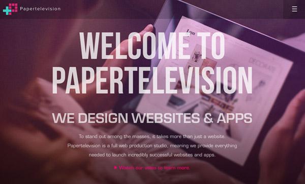 Flat Websites Design - 25