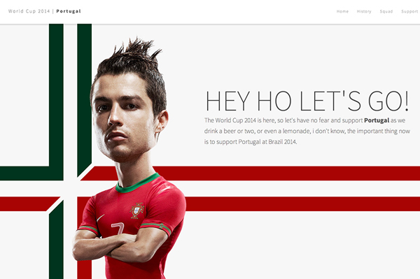 One Page Website Design - 25
