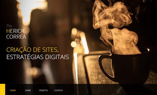 Flat Websites Design - 28