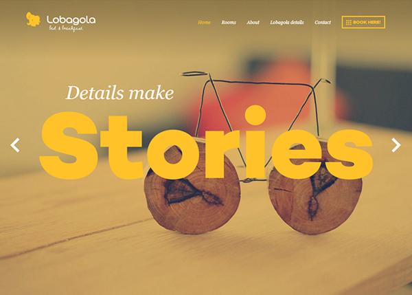 Flat Websites Design - 3