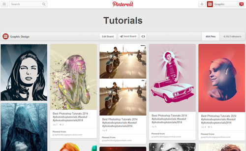 Photoshop Tutorials Pinterest Boards - 3