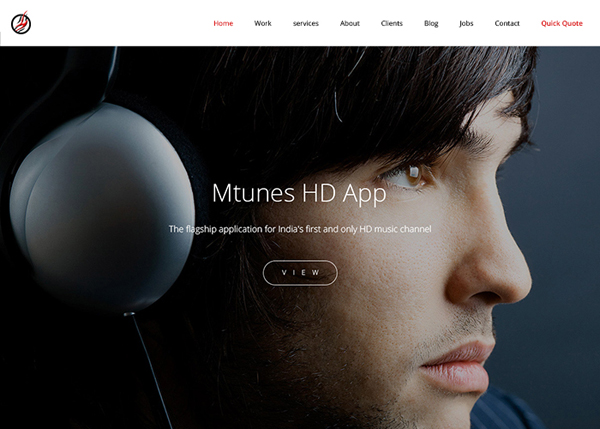 Flat Websites Design - 4