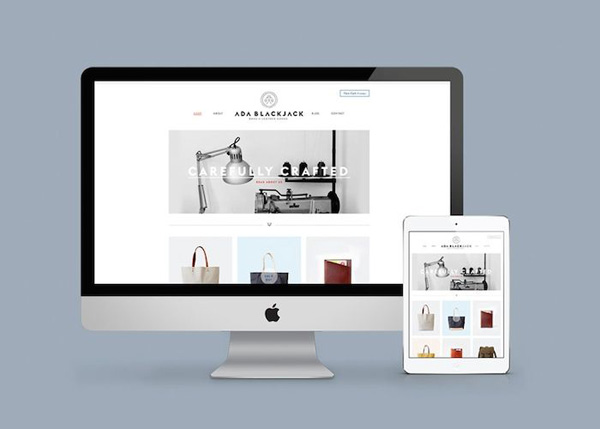 Flat Websites Design - 5