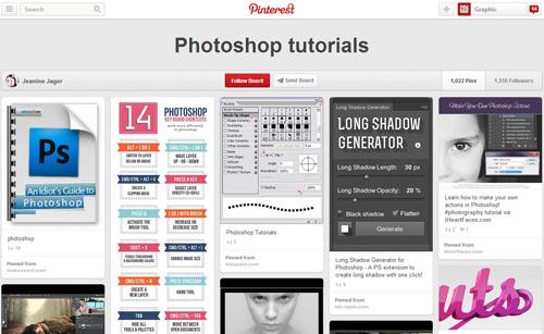 Photoshop Tutorials Pinterest Boards - 6