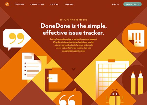 Flat Websites Design - 9