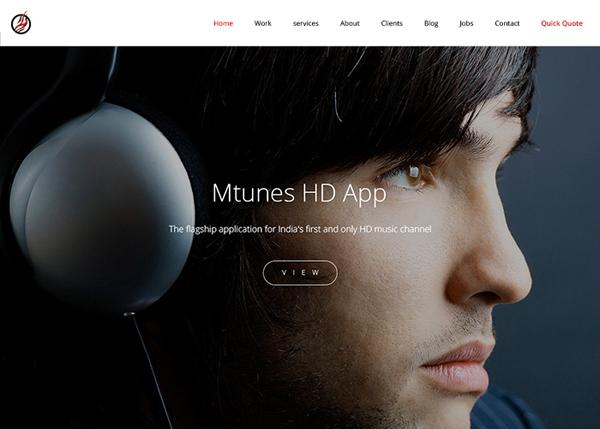 One Page Website Design - 9