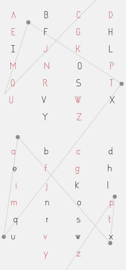 Asgalt Free Font Letters