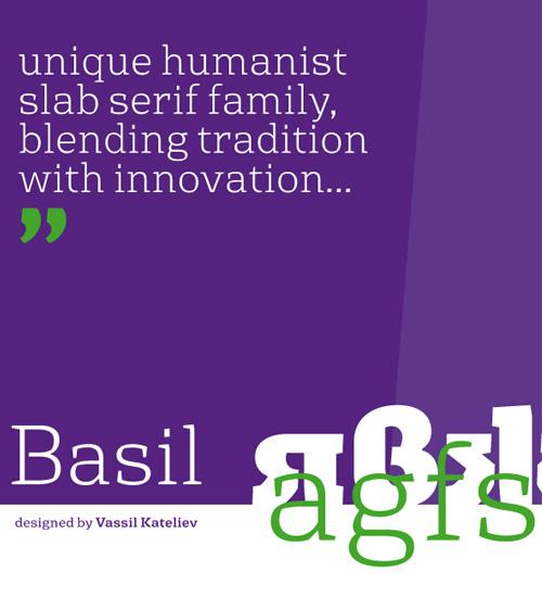 Basil Free Fonts 2014