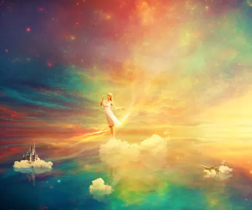 Create a Wonderfully Colorful Everlasting Dream Fantasy Manipulation