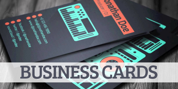 Amazing DJ Business Cards PSD Templates