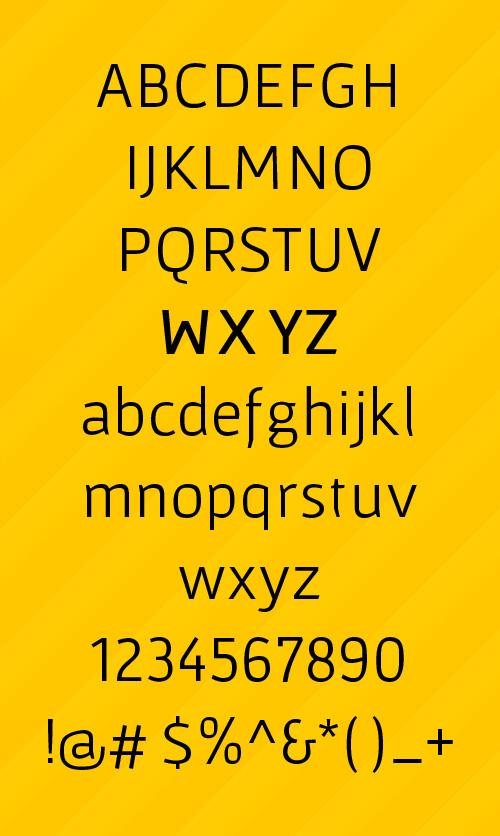 Gafata STD Free Font Letters