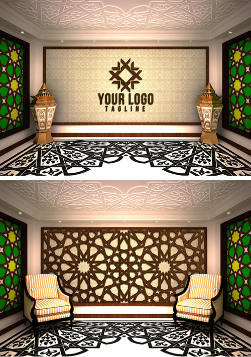 Islamic PSD Mock-ups