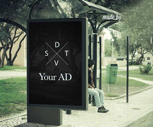 Outdoor Billboard Ad PSD Mock-ups
