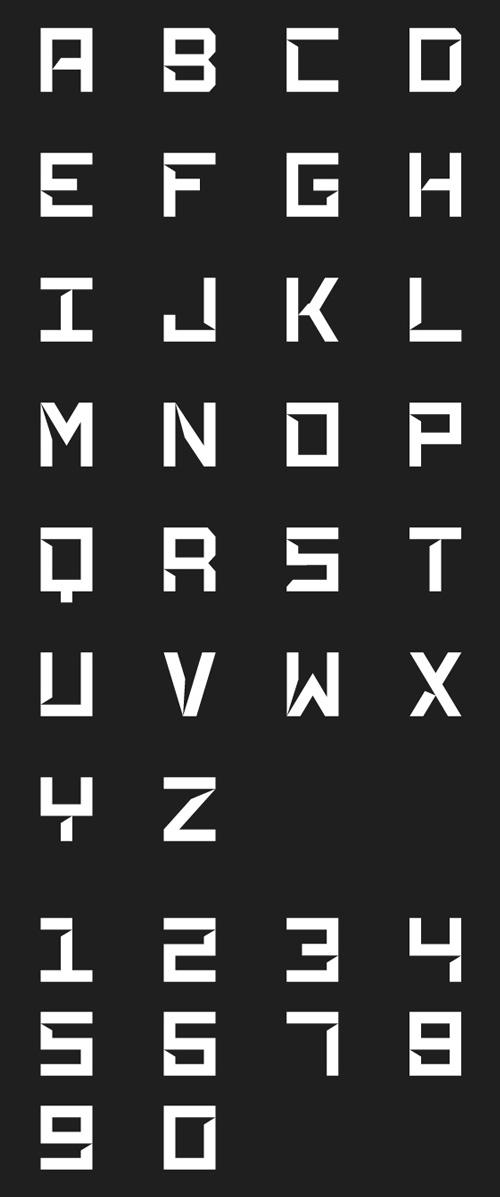 Phantasm Free Font Letters