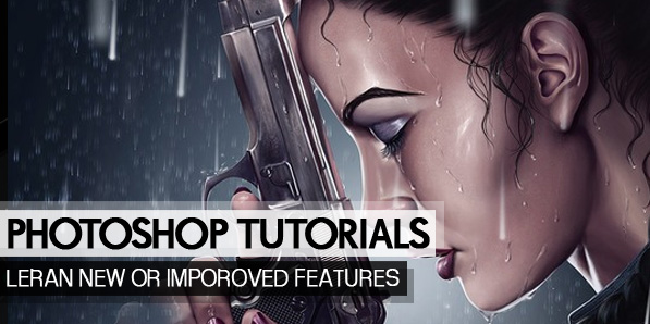 20 New Photoshop Tutorials to Learn New or Improved Features of Photoshop CC
