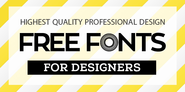 New Free Fonts For Designers