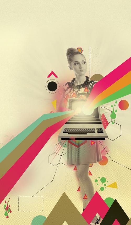 Create Retro Poster Art in Adobe Photoshop and Illustrator Tutorial
