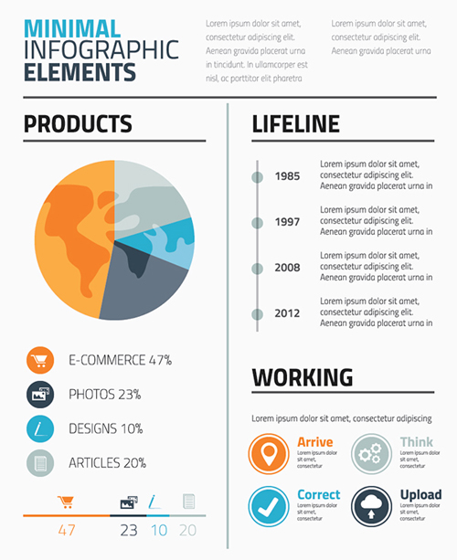 Free Infographics Vector Elements and Infographics Vector Graphics - 16