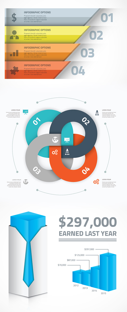 Free Infographics Vector Elements and Infographics Vector Graphics - 23
