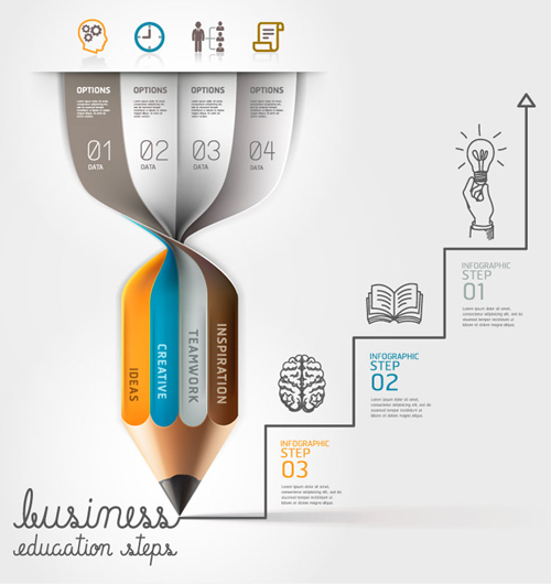 Free Infographics Vector Elements and Infographics Vector Graphics - 25