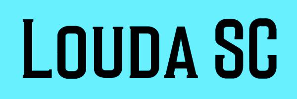 Louda SC Font Free Download
