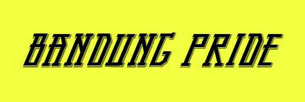 Bandung Pride Font Free Download