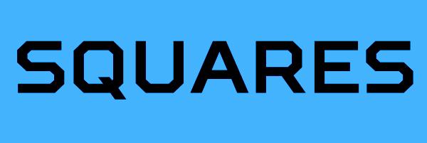 Squares Font Free Download
