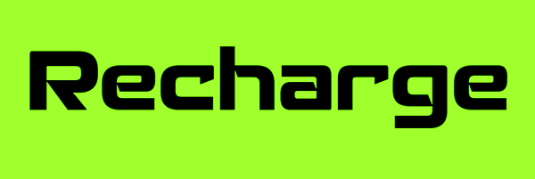 Recharge Font Free Download