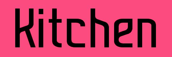 Kitchen Font Free Download