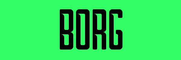Borg Font Free Download