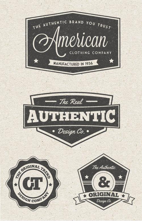 Free Vintage Label Vector Graphics