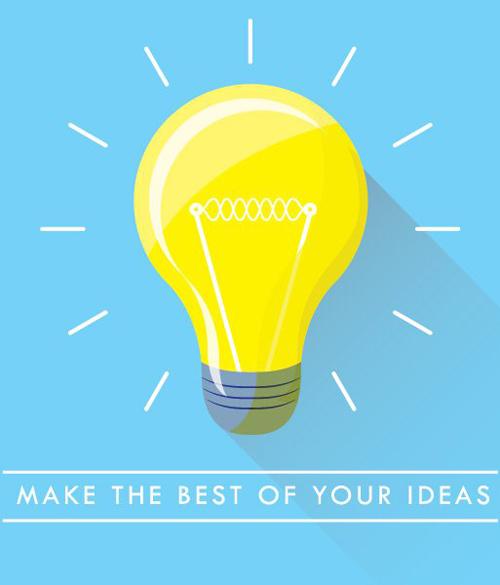 Lightbulb Vector Graphic