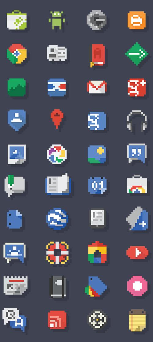Google Pixel Icons