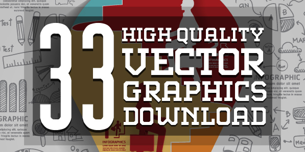 Best of 2014 - 33 Free Vector Graphics and Vector Infographics Resources for Designers