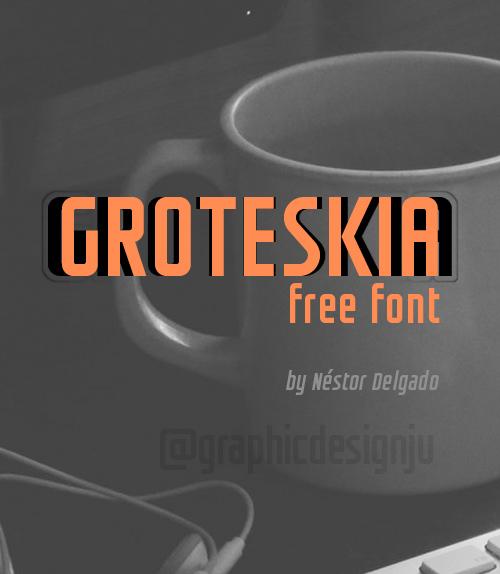 Groteskia free font family download