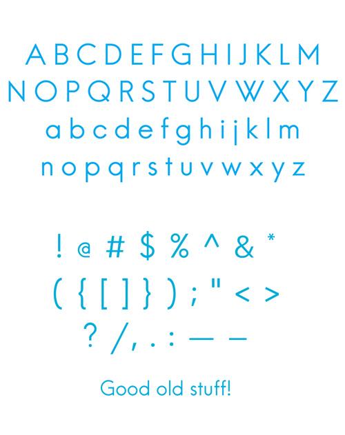 Hans Kendrick free font letters