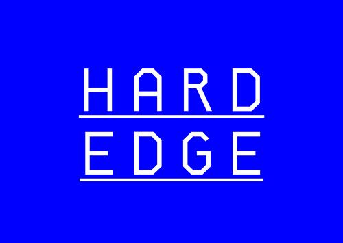 Hard Edge free font family download