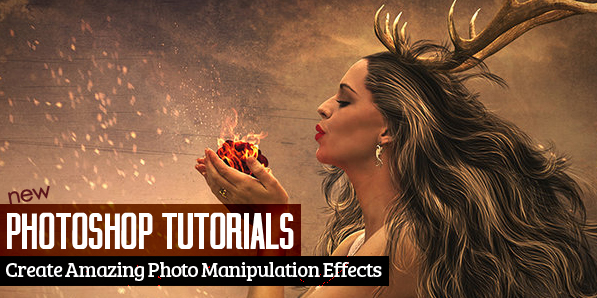 25 New Photoshop Tutorials to Create Awesome Photo Manipulation Effects