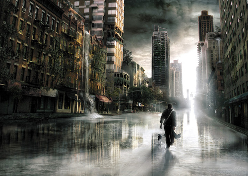 How to Create a Urban Movie Scene for a City in Photoshop Tutorial
