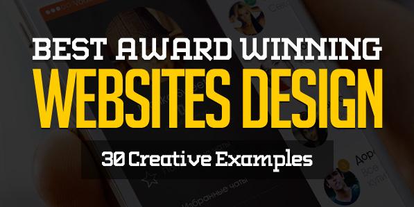 Best Award Winning Websites Design – 30 Examples