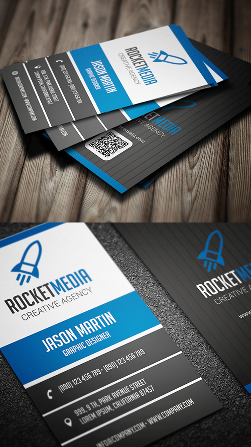 Designers Business Card PSD Templates - 1