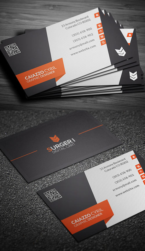 Designers Business Card PSD Templates - 15
