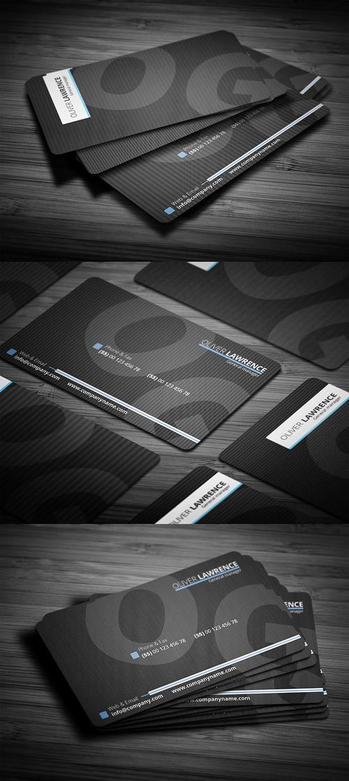 Designers Business Card PSD Templates - 24
