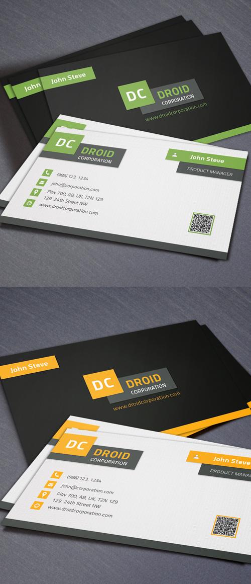 Designers Business Card PSD Templates - 4