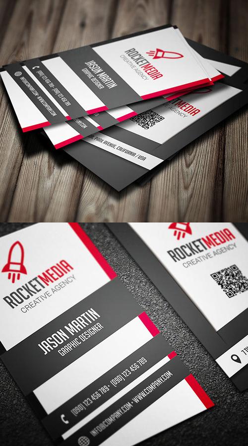 Designers Business Card PSD Templates - 6