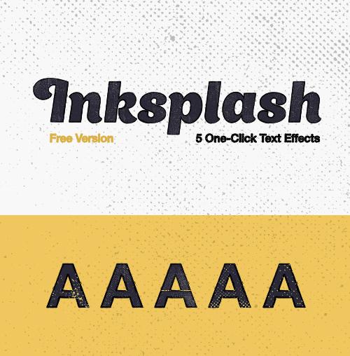 Inksplash Free Text Effects