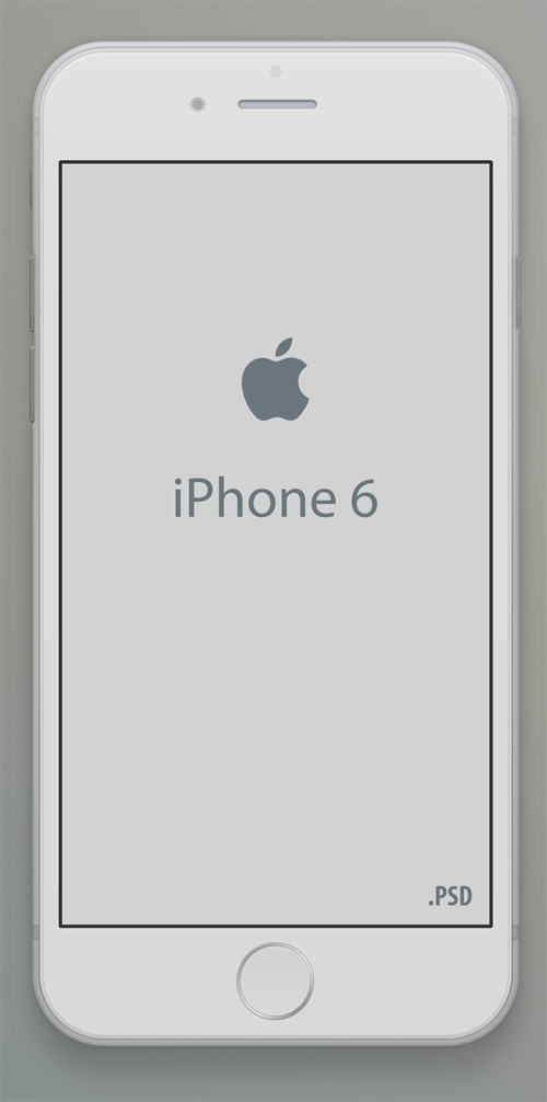 Free iPhone 6 and iPhone 6 Plus Mockup Templates (PSD, AI & Sketch) - Free Download - 12