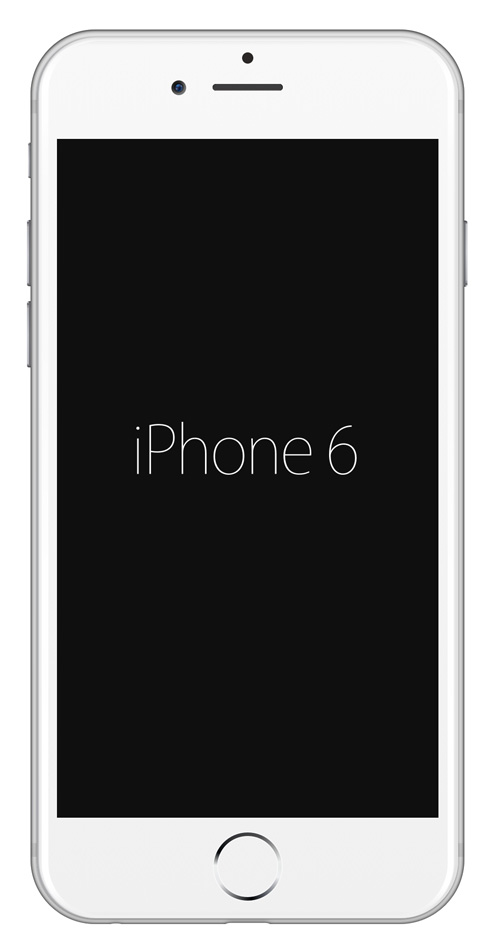 Free iPhone 6 and iPhone 6 Plus Mockup Templates (PSD, AI & Sketch) - Free Download - 14
