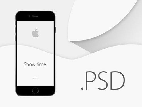 Free iPhone 6 and iPhone 6 Plus Mockup Templates (PSD, AI & Sketch) - Free Download - 31