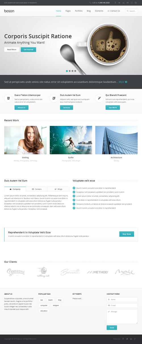 Boson MultiPurpose WordPress Responsive Theme